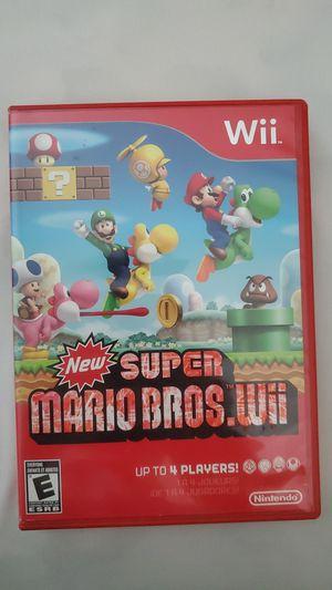 New Super Mario Bros. Wii for Sale in Dallas, TX