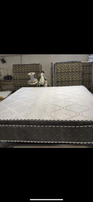 We have all sizes we deliver same day mattress and box spring for Sale in Chicago Heights, IL