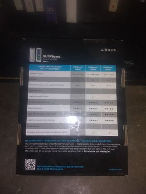 Surfboard cable modem new for Sale in Oklahoma City, OK
