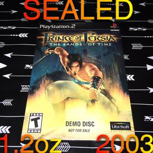SEALED 2003 Prince of Persia PS2 DEMO for Sale in Phoenix, AZ