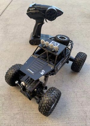 NEW IN BOX 1:18 Scale RC Radio Remote Control Diecast Metal Body Truck Offroad Car Hill Climber with Rechargeable Battery for Sale in Covina, CA