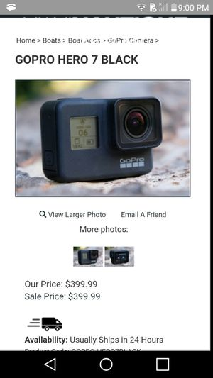 Black 7 go pro for Sale in Oregon City, OR