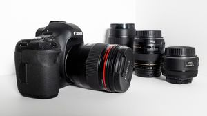 Canon 5D Mark iii with 4 lenses for Sale in Santa Monica, CA