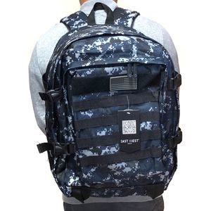 SALE! Camouflage Tactical military style Backpack molle camping hiking fishing work gym flag school book travel bag for Sale in Carson, CA
