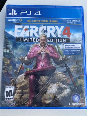 Farcry 4 PS4 for Sale in Beech Grove, IN