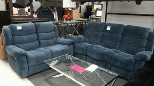 Reclining Sofa and Love Seat! Brand New! 3 Colors! for Sale in Silver Spring, MD