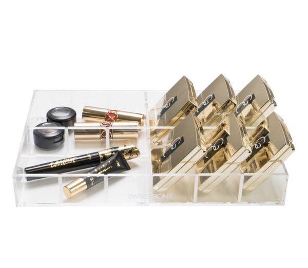 Impressions Vanity Acrylic makeup organizer .adjustable