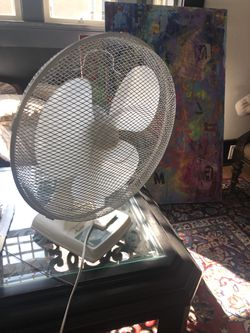 Fans $10 to $30 white black old school modern for Sale in San Diego,  CA