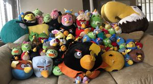 Angry Birds Collection plush stuffed animals for Sale in Las Vegas, NV