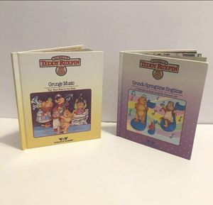 2 TEDDY RUXPIN BOOKS for Sale in Waynesboro, VA