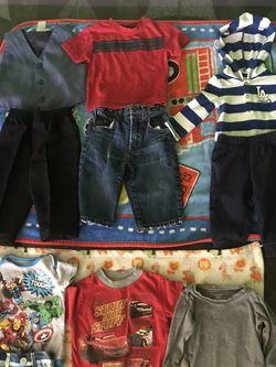 Boys Clothes Size 12 Months 10 Pieces Total for Sale in San Bernardino,  CA
