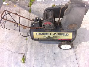 Campbell hausfeld 20 gallon air compressor sell trade for Sale in San Diego, CA