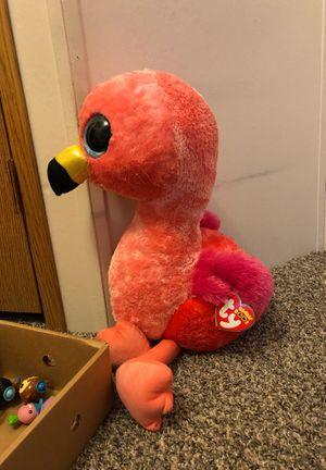 Big stuffed flamingo animal for Sale in Superior Charter Township, MI
