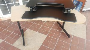 Desk/stand up desk for Sale in Denver, CO