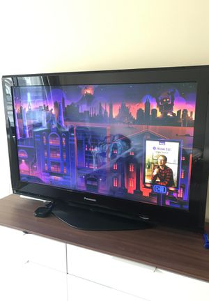 """Panasonic- 50"""" plasma TV with free Roku 2 for watching Netflix, hbo and all your other channels for Sale in Boston, MA"""