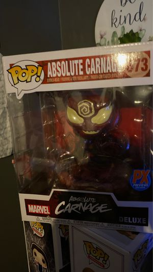 Absolute carnage funko px exclusive for Sale in Buena Park, CA