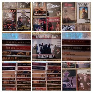 Lot of 17 Gangsta Rap Cassettes for Sale in Florissant, MO