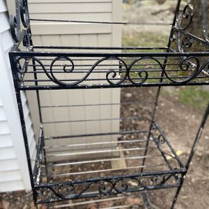 Wrought Iron Bakers Rack for Sale in Berkeley Heights, NJ