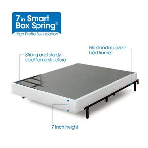 New in box Zinus Armita 7 Inch Smart Box Spring King size $50 for Sale in Columbus, OH