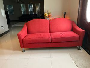 Red Sofa Couch for Sale in Miami, FL