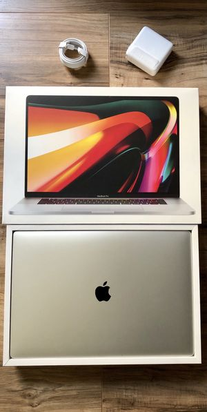 """NEW 2020 MacBook Pro 6-Core 2.6GHz 512GB SSD i7 16"""" Touch Bar Retina Apple Warranty 2021 for Sale in Los Angeles, CA"""