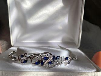 Blue Sapphire Bracelet for Sale in Buckeye,  AZ