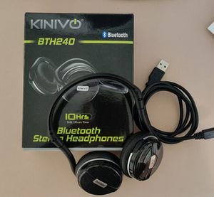 NEW Kinivo - BTH240 Bluetooth Wraparound Headphones for Sale in Silver Spring, MD