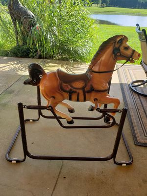Bouncing horse Wonder horse cheyenne for Sale in Julian, NC
