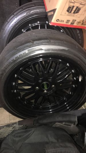 ESR Rims and tires for Sale in Union City, NJ