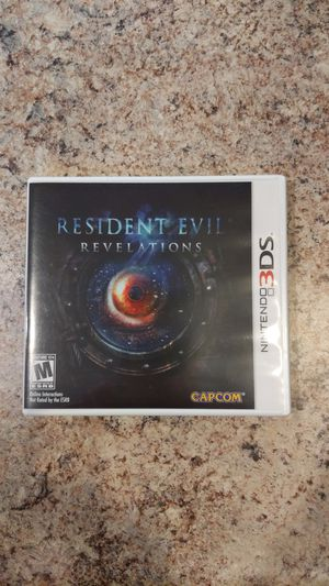 Resident Evil Revelations Nintendo 3DS rare misprint edition for Sale in Orland Park, IL
