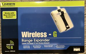 Wi-Fi Range Extender Linksys for Sale in Bethesda, MD