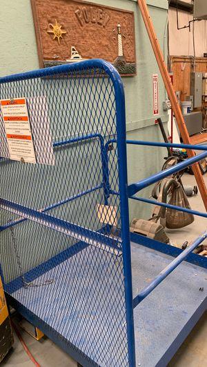 Forklift scaffolding attachment for Sale in Chesapeake, VA