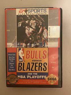 Bulls Vs Blazers Sega for Sale in Anaheim,  CA