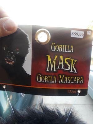 Gorilla mask for Sale in Fontana, CA