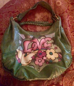 ISABELLA FIORE AUTHENTIC * SUMMER OF LOVE * LEATHER HOBO BAG for Sale in NW PRT RCHY, FL