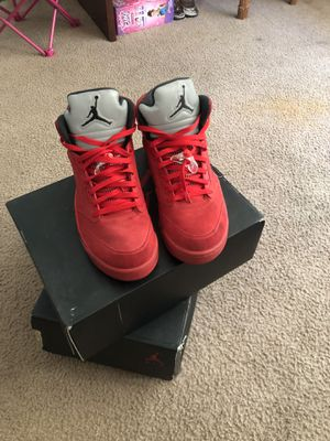 Size 12s Suede Jordan 5's for Sale in Kissimmee, FL