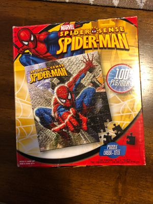 Spider-man 100 peice puzzle for Sale in Columbia, MO