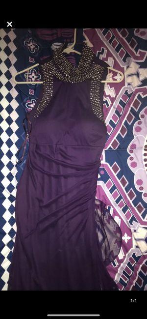 Purple Slim silver neck beading Bridesmaid dress for Sale in Long Beach, CA