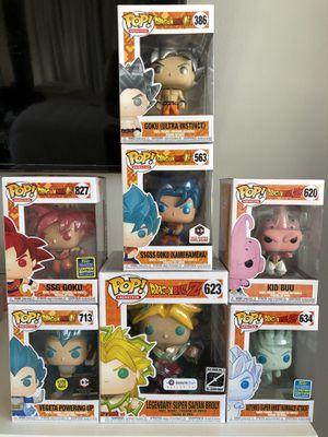 Dragonball Z Funko POP for Sale in Corona, CA