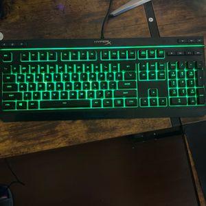 Hyper X Alloy Core RGB Gaming Keyboard for Sale in Santa Clarita, CA