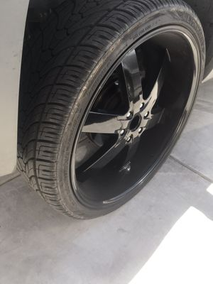 26 inch u2 rims for sale 6 Lug TITLRES NOT INCLUDED for Sale in NV, US