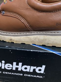 Diehard Low Leather Work Boots Size 13 for Sale in Bensalem,  PA
