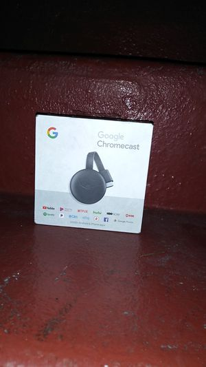 Chromecast still new in box for Sale in Los Angeles, CA