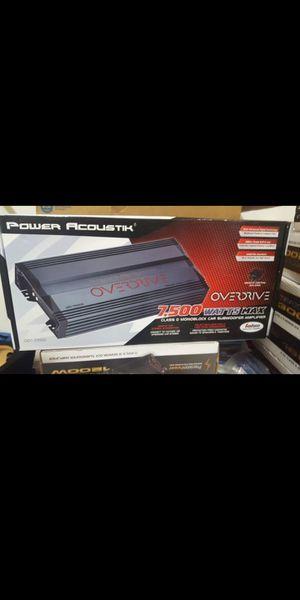 NEW!!! Power Acoustik 7500w 1ch amplifier for Sale in Phoenix, AZ