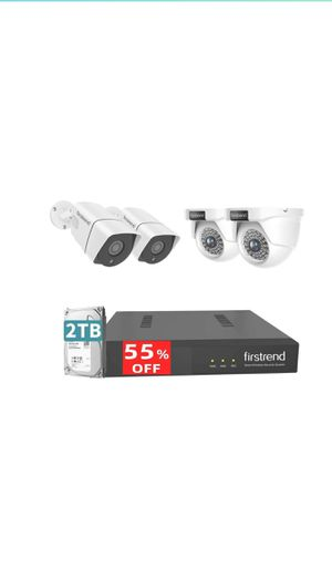 5MP POE Security Camera System,Firstrend Ultra HD POE Cameras for Sale in Temple City, CA