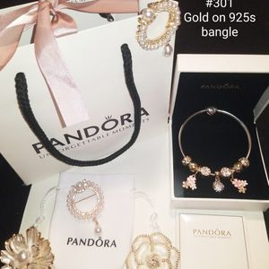 New Gold Pandora bracelet for Sale in Columbus, OH