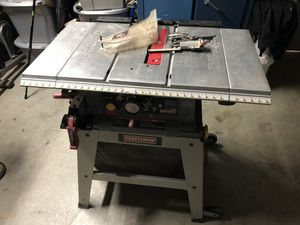 """Craftsmen 10"""" table saw for Sale in Gilroy, CA"""