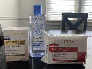 L'Oréal facial care bundle - NEW for Sale in Soquel, CA