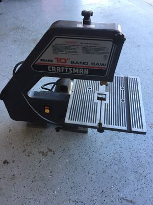 Craftsman band saw for Sale in Modesto, CA