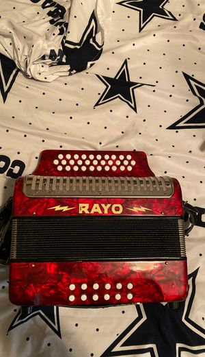 Rayo accordion$800.00 for Sale in Grand Prairie, TX